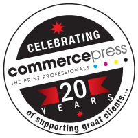 commerce-press-20-years-logo